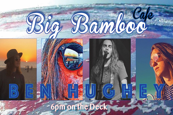 Ben Hughey Music Big Bamboo Cafe Coligny Hilton Head